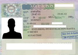 visado de estudiante para permiso de residencia